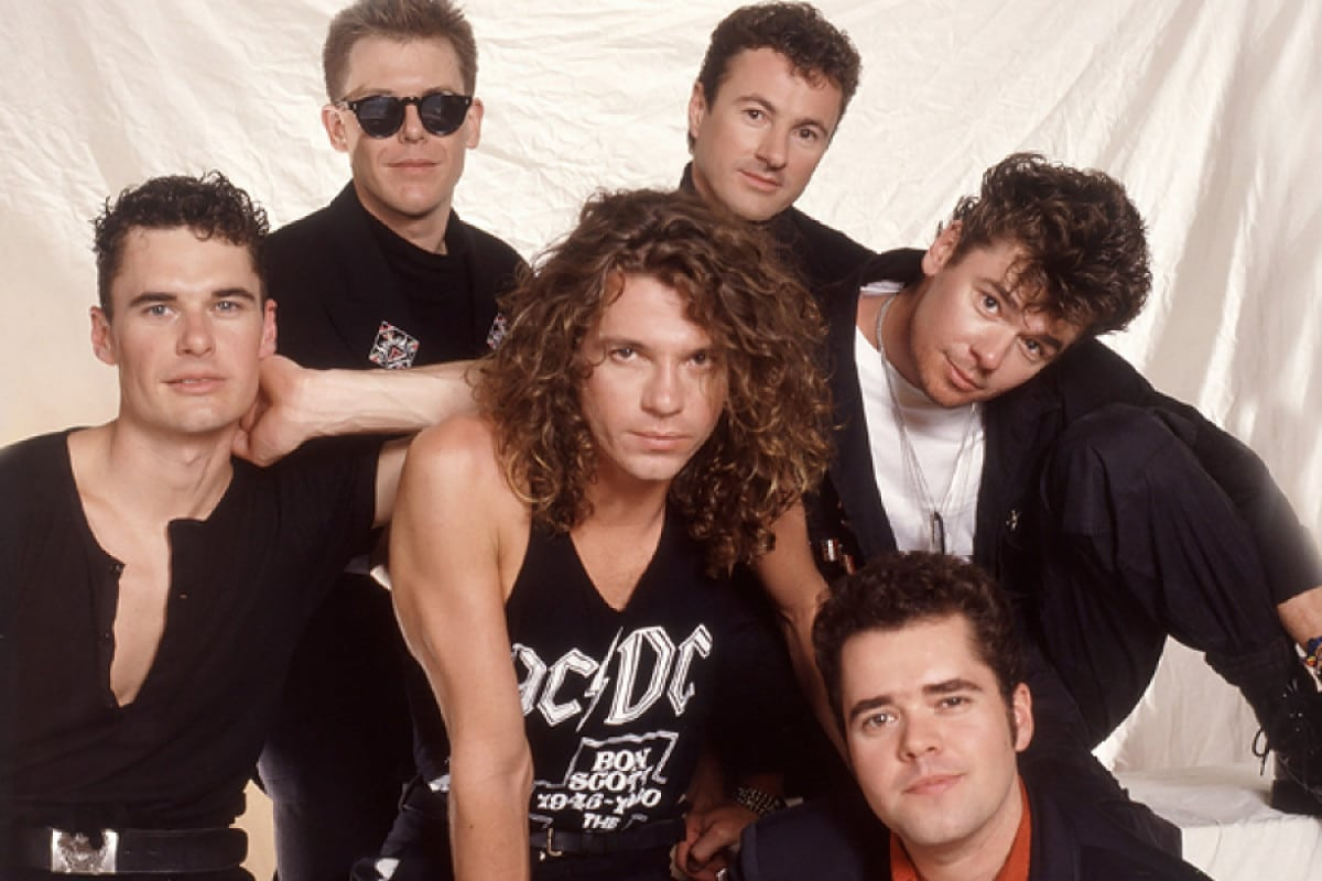 Photo of the band INXS